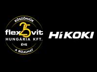 Flexovit Hungária Kft. - HIKOKI partnerkapcsolat