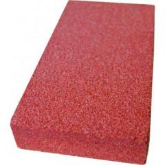 Gr kerámia kötésű köszörű szegmens 150x80x25mm 6A36H piros
