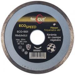 Flexmann For Cut gyémánttárcsa ECO 115x2,0x5x22,2mm folyamatos élű, kerámia, csempe