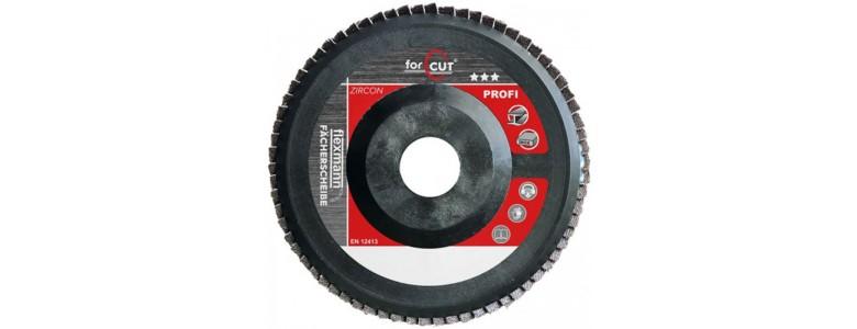 For Cut Profi lamellás csiszolókorong 125x22mm Z40 műanyag, egyenes, dupla, fém-inox