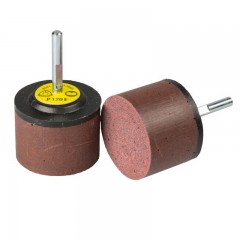 Klingspor csapos polírozó és pikkelyező korong 30x30x6mm- RFM 652-alumínium, színes fém