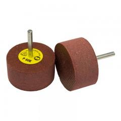 Klingspor csapos polírozó és pikkelyező korong 40x15x6mm- RFS 651-alumínium, inox, színes fém