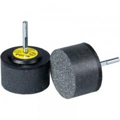Klingspor csapos polírozó és pikkelyező korong 30x30x6mm, T kötőanyag-SFM 656-inox